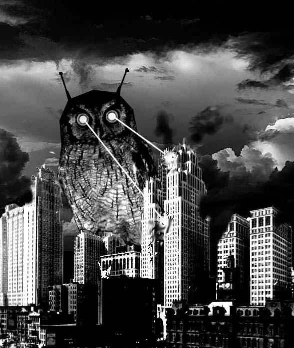 La Chute de la Maison des Hiboux [Privé] Giantroboticowldestroysdetroit